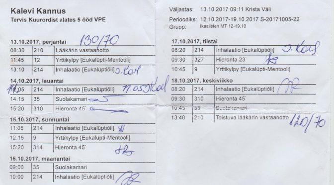 Terveyshoidot Pärnussa