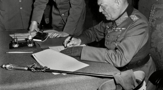 Eurooppaan rauha 8. toukokuuta 1945